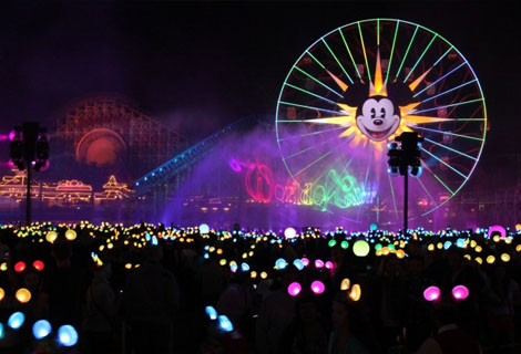 Disneyland Diamond World of Color